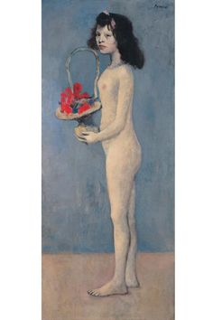 Picasso's Young Girl with a Flower Basket will be auctioned