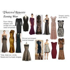 """Theatrical Romantic Dresses"" by trueautumn on Polyvore"