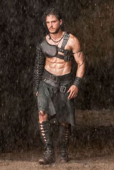 kit harington takes on the role of Milo who is a slave turned gladiator in Pompeii