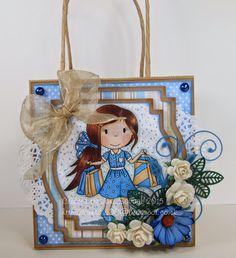 DT Jane Savage The Paper Nest Dolls Challenge Blog: Shopping Girl Ellie!
