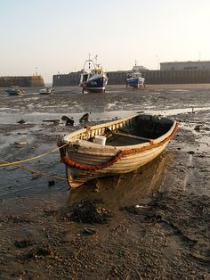 Fishing boats Folkestone