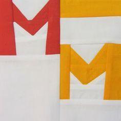 42 Quilts: Modern Monday - Block 63