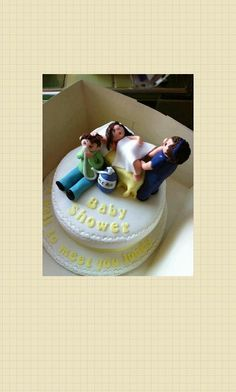 Can't help but have a laugh at this Baby Shower Cake! This has to be the best cake ever for a baby shower. Funny Baby Shower Cakes, Baby Shower Fun, Baby Shower Cakes For Boys, Fun Baby, Happy Baby, Crazy Cakes, Cupcakes, Bolo Tumblr, Gateau Baby Shower