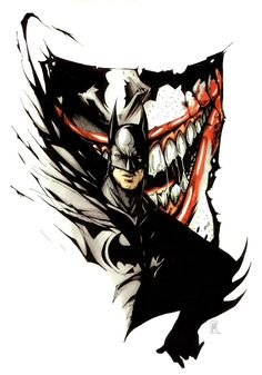 #batman #joker #Dc #comics