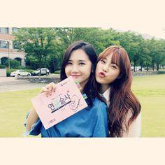 heo young ji and yoo ara