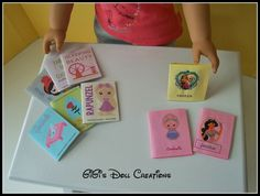 GiGi's Doll and Craft Creations: DIY Doll books for American Girl or other 18 inch dolls