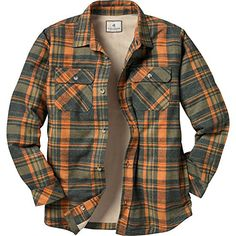 a629ab73 Fleece Lined Flannel Shirt, Mens Flannel Shirt, Mens Fleece, Flannel  Fashion, Mens