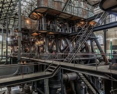 Steampunk || Col. Ward Pump Station in Buffalo, New York