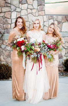 Vintage retro style classy classic wedding dress champagne and gold chapel exit wedding photography utah photographer  hillarytaylorphoto.com Classic Wedding Dress, Utah Wedding Photographers, Bridesmaid Dresses, Wedding Dresses, Retro Style, Retro Fashion, Retro Vintage, Champagne, Wedding Photography