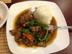 Pepper Steak from the Purple Orchid Café & Thai Food Grocery