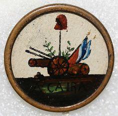French Button de la Révolution Française From the Hanna S. Kohn Collection, 1951