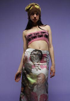 Knit Fashion, Fashion Week, Runway Fashion, High Fashion, Fashion Show, Fashion Design, Fashion Trends, Maisie Williams, Ashley Williams