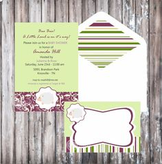 LITTLE LAMB Baby Shower or First Birthday by wanessacarolina