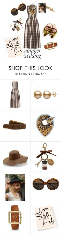 """""""Senza titolo #212"""" by aletererenier ❤ liked on Polyvore featuring Brock Collection, Lacoste, Peter Grimm, Ladurée, Lack of Color, Sol-Amor, FOSSIL and Alberta Ferretti"""