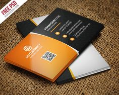 Creative and colorful business card free psd psd print template free corporate business card bundle psd wajeb Images