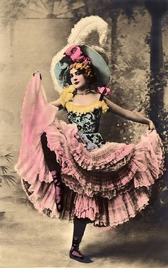 Hand-tinted Moulin-Rouge