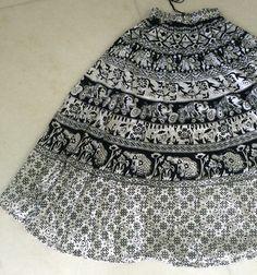 Maxi Skirt Long Skirt Indian Bollywood Skirt Long by NeelCreations