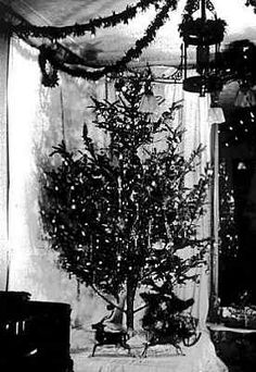 §§§ : first electric christmas tree 1882