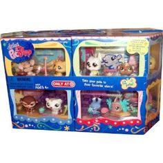 Littlest Pet Shop Exclusive Carry Case with 12 Pet Figures 4 Different Sets… Lps Littlest Pet Shop, Little Pet Shop Toys, Little Pets, Lps Toys For Sale, Accessoires Lps, Lps Sets, Lps Dog, Lps Accessories, Dollhouse Toys