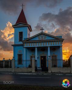 Ermita de La Caridad del Cobre - Vista de la Ermita de La Caridad del Cobre al amanecer