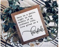 Inspirational Wood Signs Magnolia Market Sign Love Gives Us