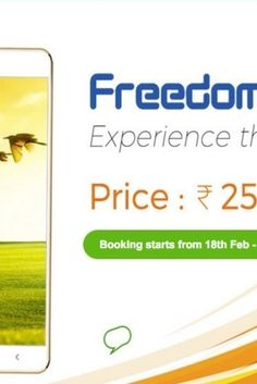 Ringing Bells Launches Freedom 251: Worlds Cheapest Smartphone Rings In Incredulity