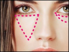 Ideas For Makeup Tutorial Concealer Cover Up How To Apply 58 + Ideen für Make-up Tutorial Concealer For Dark Circles, Under Eye Concealer, Cream Concealer, Covering Dark Circles, Dark Circles Under Eyes, Eye Circles, Eyeliner Hacks, Contour Makeup, Eye Makeup