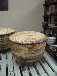 市野雅利さん 陶器おひつ