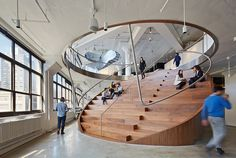 WORKac Designs Creative NYC Headquarters for Ad Agency Wieden+Kennedy | 6sqft
