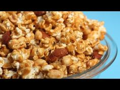 Homemade Caramel Corn - YouTube