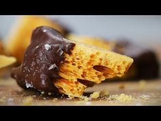 This Satisfying Recipe Video For Honeycomb Toffee Is Totally Cooking Goals