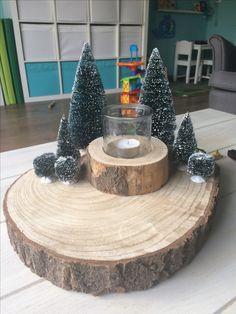 Kerststukje   Zelf gemaakt