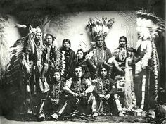 Nez Perce and Umatilla group. ca. 1890s. Shared by Edith Cruz