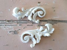 SHABBY & CHIC ARCHITECTURAL FURNITURE APPLIQUES FLORALS * NEW * ONLAYS MOLDINGS | Home & Garden, Furniture, Other Home Furniture | eBay!
