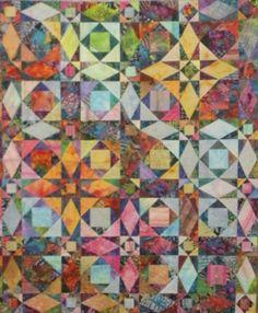 batik quilts | Storm at Sea Kits