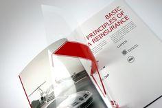 clean booklet design