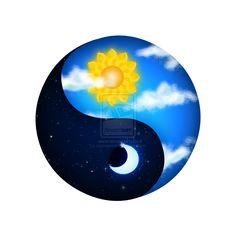 Yin Yang day and night
