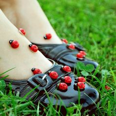 """and there will be """"lady bugs. lots and lots of lady bugs. She's A Lady, Lady In Red, Ladybug Picnic, Lady Bug Tattoo, Under The Tuscan Sun, Normal Girl, A Bug's Life, Lucky Ladies, Save The Bees"""