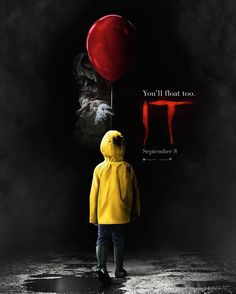 "360 Likes, 21 Comments - Entertainment Weekly (@entertainmentweekly) on Instagram: ""The first teaser poster for @itmovieofficial is here and it is CREEPY. 😱🎈🙅🏻 The poster evokes the…"""