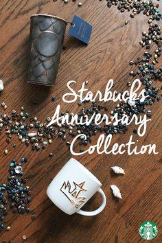 The Starbucks Anniversary Collection is here—shop mugs, tumblers, travelers, and… Starbucks Siren, Starbucks Coffee, Coffee Coffee, Coffee Cups, Tea Cups, Cafe Menu, Fika, Coffee Design, Mug Cup