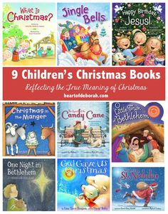 Do you love children's Christmas books? This collection of 9 books reflect the true meaning of Christmas.