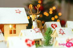 kalendarz adwentowy DIY Diy Advent Calendar, Countdown Calendar, Baby Items, Homemade, Christmas Ornaments, Holiday Decor, Crafts, Inspiration, Winter