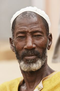 Portrait of a Malian man in Segou, Mali