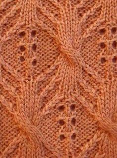 Aran Knit Stitch Pattern