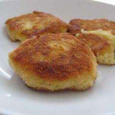 Kartoffelplätzchen aus Kartoffelbrei-Resten