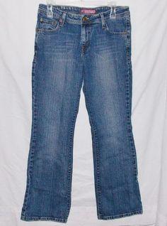 Levi's 518 Size 13 Medium Women's Bootcut Low Rise Stretch Denim Jeans