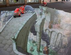 11 of the best sidewalk art paintings in the world