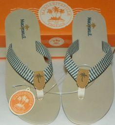 aee50999ab7b Women s Sz 9 Flip-Flops Sandals Margaritaville Lime Aruba Beach Classics  NIB  Margaritaville