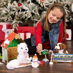 Elf on the Shelf│Elf Ideas│Ideas for Scout Elves Christmas Rock, Christmas Tree Cards, Christmas Animals, Cozy Christmas, The Elf, Elf On The Shelf, Elves At Play, Christmas Reflections, Elf Pajamas