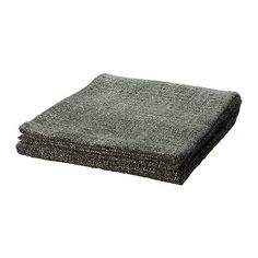 GURLI Throw - grey/black - IKEA
